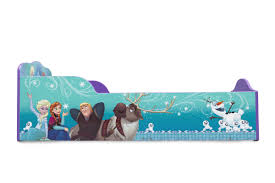 Toddler Bed With High Sides Delta Children Disney Frozen Toddler Bed U0026 Reviews Wayfair
