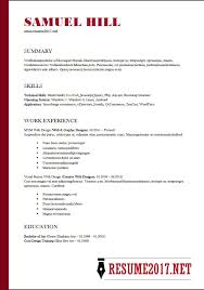 functional resume template resume format 2018 16 templates in word