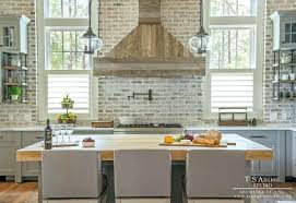 brick kitchen backsplash awe inspiring brick kitchen backsplash brick kitchen mydts520