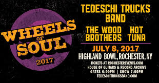 Red Light Tickets Rochester Ny Highland Bowl Concert Series 2017 Tedeschi Trucks Band In July