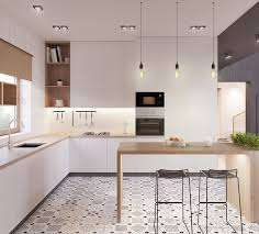 cuisine blanche et plan de travail bois 1001 astuces et idées pour aménager une cuisine en l