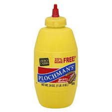 plochman s mustard plochman s mild yellow mustard 24oz target