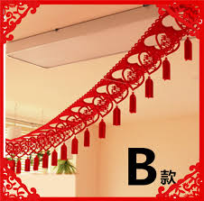 guaranteed 100 300cm non woven garland wedding decoration