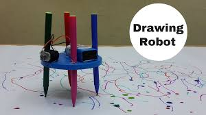 make a home how to make a simple drawing scribbling robot at home youtube