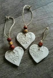 cornstarch clay ornaments pinteres