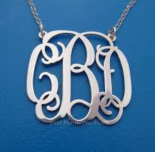 best name necklace 181 best monogram necklace images on monograms