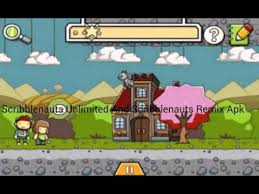 scribblenauts remix apk scribblenauts unlimited and scribblenauts remix apk