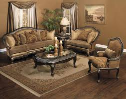 living room traditional sectional sofas cocoa brown top grain