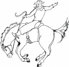 cowboys coloring pages learn coloring