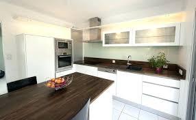 plan de travail cuisine blanche cuisine blanche plan de travail bois 9n7ei com