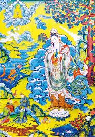 tibetan artist brings unique paintings shanghai daily