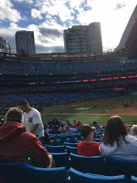 rogers centre section 115r home of toronto blue jays toronto