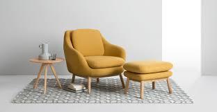 Oslo Bathroom Furniture by Oslo Footstool Yolk Yellow Made Com