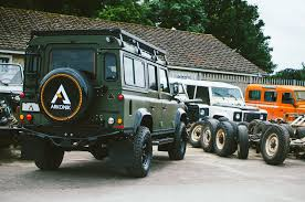 land rover defender 2017 arkonik reveals its new project the land rover defender force d110