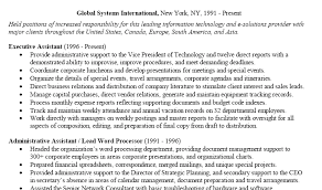 Best Executive Assistant Resume by Executive Assistant Resume 2016 Writing Resume Sample Writing