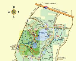 New York Map Rochester by Dog Friendly Parks Mendon Ponds Park
