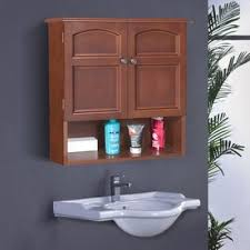 shop bathroom wall cabinets at lowes com