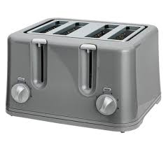 Asda Toasters Buy Cookworks 4 Slice Toaster Grey At Argos Co Uk Your Online