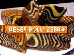 Tips Membuat Bolu Zebra | cara membuat kue bolu zebra resep aneka bolu youtube