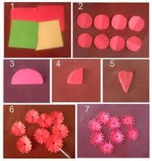 cara membuat bunga dari lipatan kertas cara membuat bunga jati