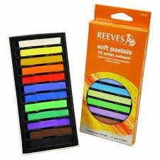 Pastel Colours Amazon Com Reeves 12 Colors Soft Pastel Set Arts Crafts U0026 Sewing