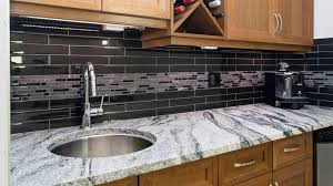 Cost Of Refinishing Kitchen Cabinets Granite Countertop Contemporary Kitchen Colour Schemes Tile Over