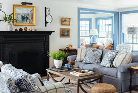 Kate Jackson Interior Design My Work Coastal Chic In Quonnie Beach Style Living Room
