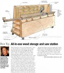 image of 197 wood storage and miter saw stand plans woodworking