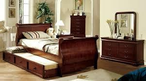 size sleigh bed modern storage bed design