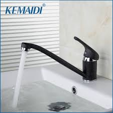 paint kitchen sink black kemaidi kitchen sink deck mounted short black painting mixer and