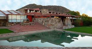 frank lloyd wright inspired home with lush landscaping frank lloyd wright inspired house plans house plans 52636