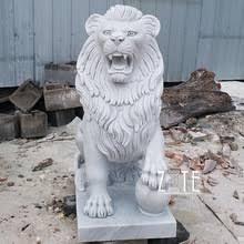 marble lion white marble lion statues wholesale lion statues suppliers alibaba