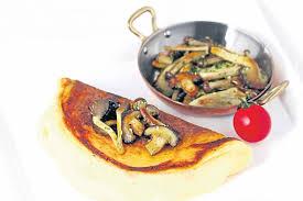 de la cuisine inspired by my trip l omelette de la mere poulard โพสต ท