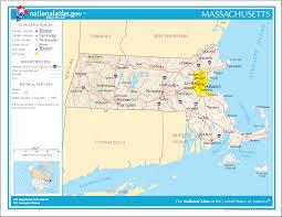 Massachusetts Map The Commonwealth Of Massachusetts
