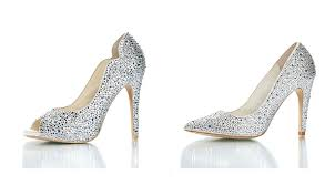 ivory shoes for wedding sparkly wedding shoes chic womens ivory satin wedding