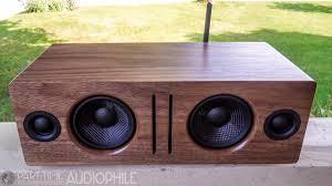 review audioengine b2 bluetooth speaker peachtree audio