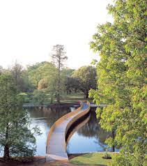 Royal Botanic Gardens Kew by John Pawson Sackler Crossing Royal Botanic Gardens Kew As Part Of