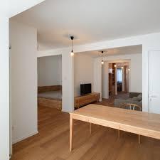 lee chul and liu jing create open plan apartment in beijing