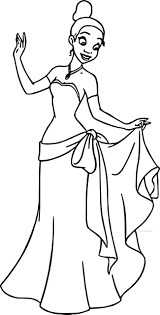 disney princess tiana coloring pages princess frog