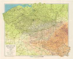 belgium and netherlands map belgium 1944 map wwii netherlands escape lines