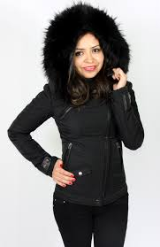 women winter jacket black 55 zalammzalamm