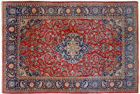 persiani antichi kashan antico rosso tappeto epoca dabir morandi tappeti