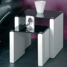 white nest of tables larus black glass nesting tables 87338 39 home ideas pinterest