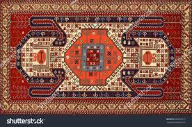 Tribal Persian Rugs by Persian Carpet Tribal Vector Texture Stock Vector 686686012