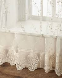 Hanging Lace Curtains Luxury Curtains U0026 Curtain Hardware At Neiman Marcus