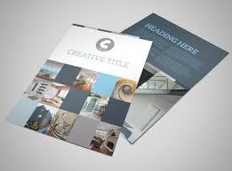 architecture brochure template architecture u0026 design studio flyer