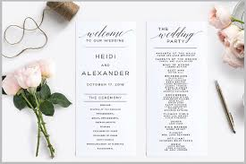 wedding program designs 14 wedding program templates editable psd ai format
