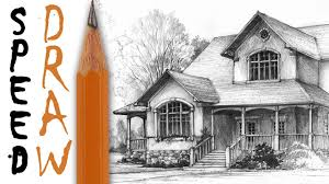house architectural how to draw a house architecture speed drawing