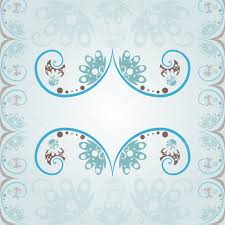 wedding invitation background blue wedding invitation background in a classic style with flora