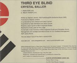 Third Eye Blind San Francisco Third Eye Blind Crystal Baller Us Promo Cd Single Cd5 5
